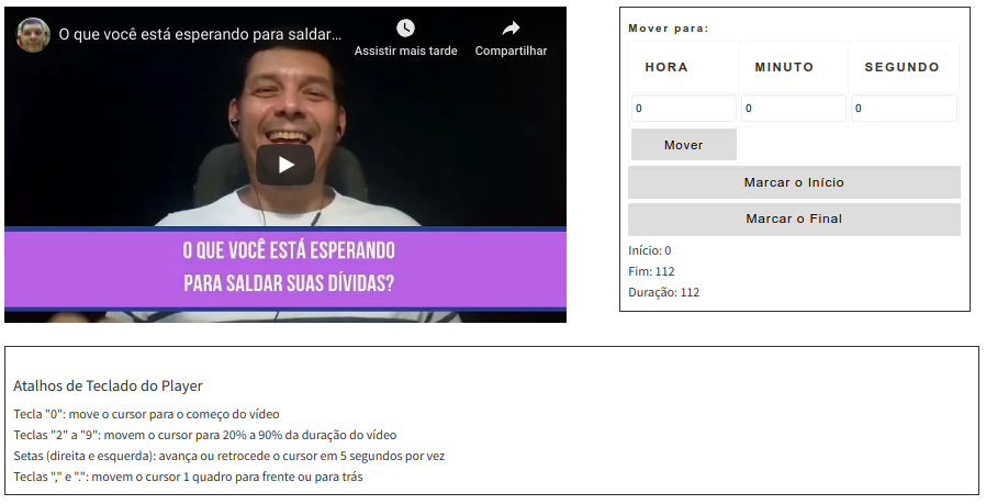 Converter videos do youtube para o Instagram